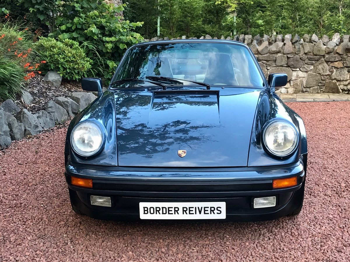 1989 Porsche 911 Supersport Targa very rare For Sale (picture 1 of 6)