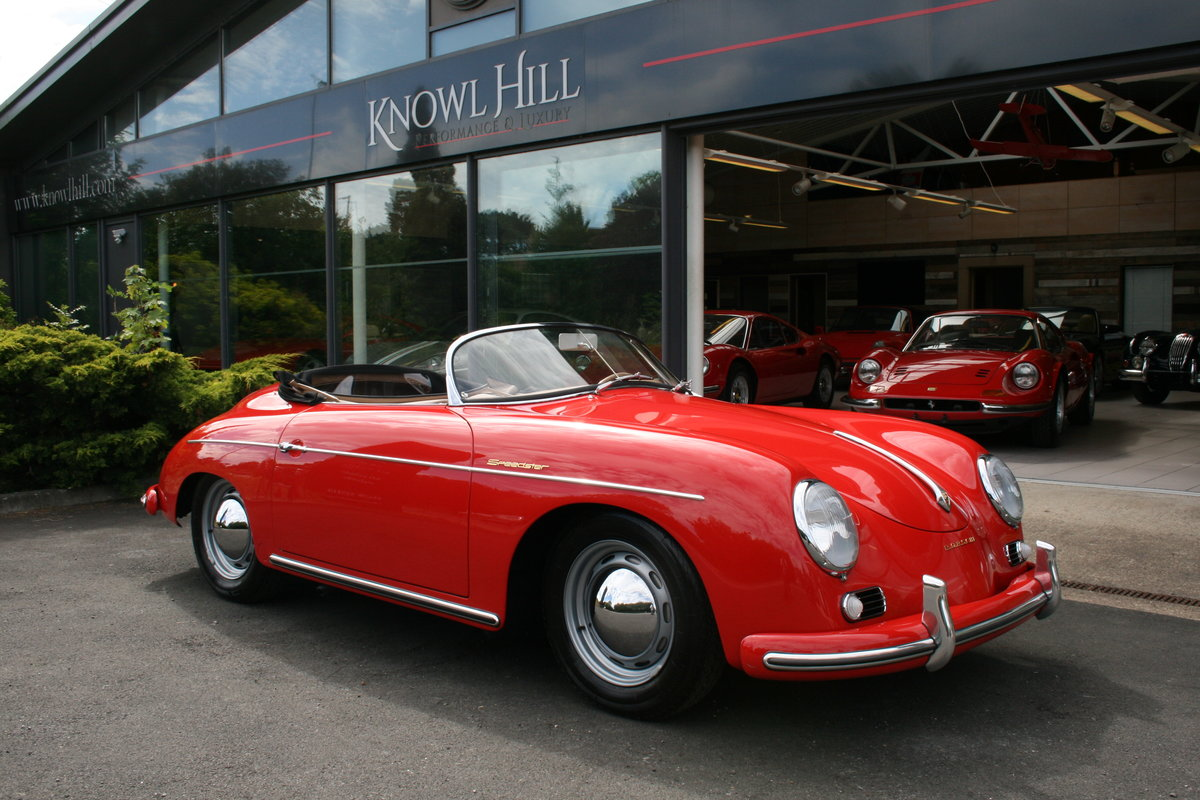 1957 Porsche 356 A Speedster previously owned by Michael Lang For Sale (picture 1 of 6)