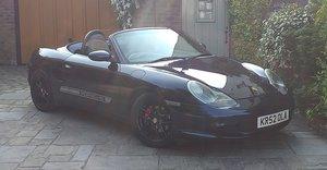 Porsche boxster 2.7 metalic blue