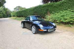 1996 Porsche 911 Carrera Coupe RHD For Sale