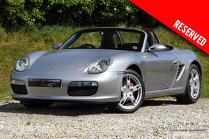 RESERVED - Porsche 987 Boxster manual