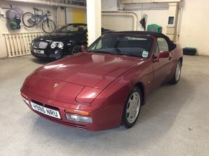 1991 Stunning 944 S2 Cabriolet with only 52,400 miles