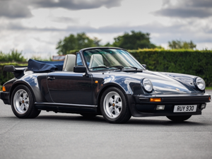 1988 Porsche 911 Turbo Convertible 24000 Miles For Sale