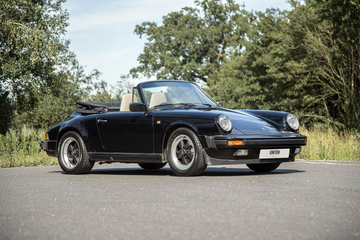 1989 Porsche 3.2 Carrera Cabriolet G50 For Sale (picture 1 of 6)