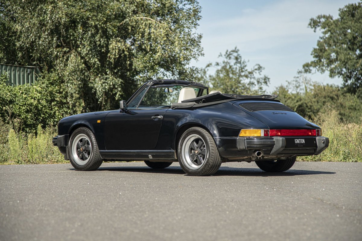 1989 Porsche 3.2 Carrera Cabriolet G50 For Sale (picture 2 of 6)