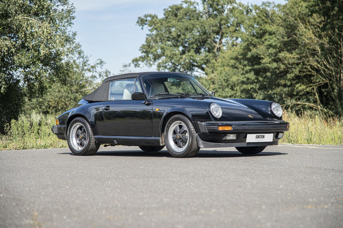 1989 Porsche 3.2 Carrera Cabriolet G50 For Sale (picture 3 of 6)