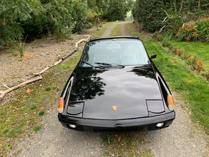Super Black Porsche 914 2.0 Subaru Engine