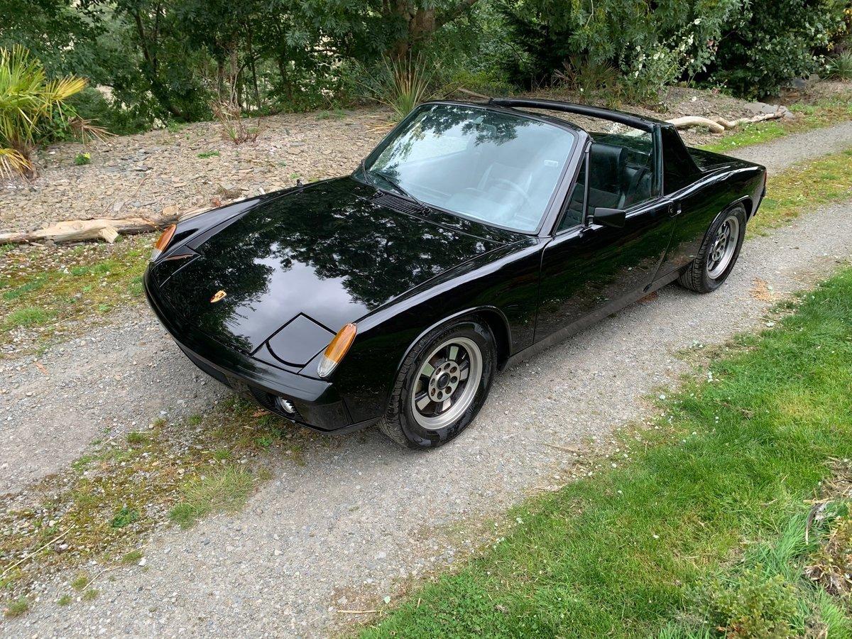 1973 Super Black Porsche 914 2.0 Subaru Engine For Sale (picture 3 of 6)