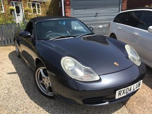 Porsche Boxster 2.7 [986] in Atlas Grey