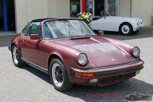 1985 Porsche 911 Carrera 3.2 Targa Restorationproject