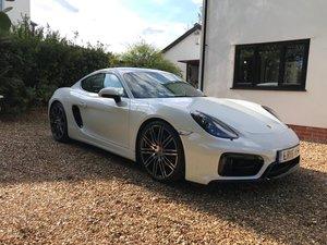 2015 Porsche Cayman 981 gts