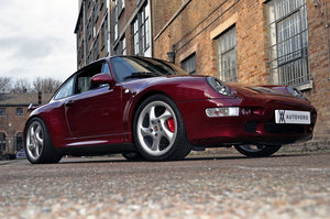 1996  - iconic 993 turbo in launch colour For Sale