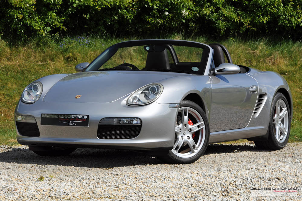 2007 Porsche 987 Boxster manual SOLD (picture 1 of 6)