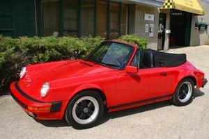 1987 Porsche 911 Carrera Cabriolet For Sale