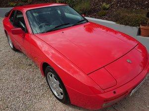 1992 Porsche 944 S2 3.0l in Guards Red, Bridge Spoiler For Sale