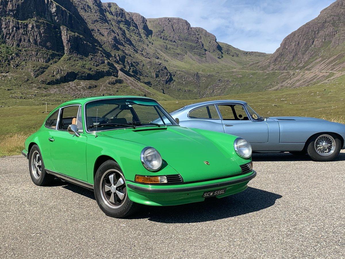 1972 Porsche 911  2.4E, original RHD car, exceptional example For Sale (picture 1 of 18)