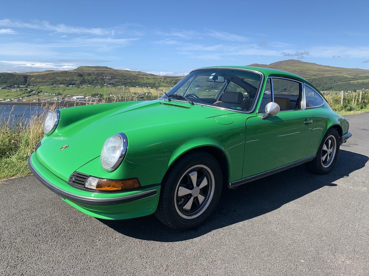 1972 Porsche 911  2.4E, original RHD car, exceptional example For Sale (picture 10 of 18)