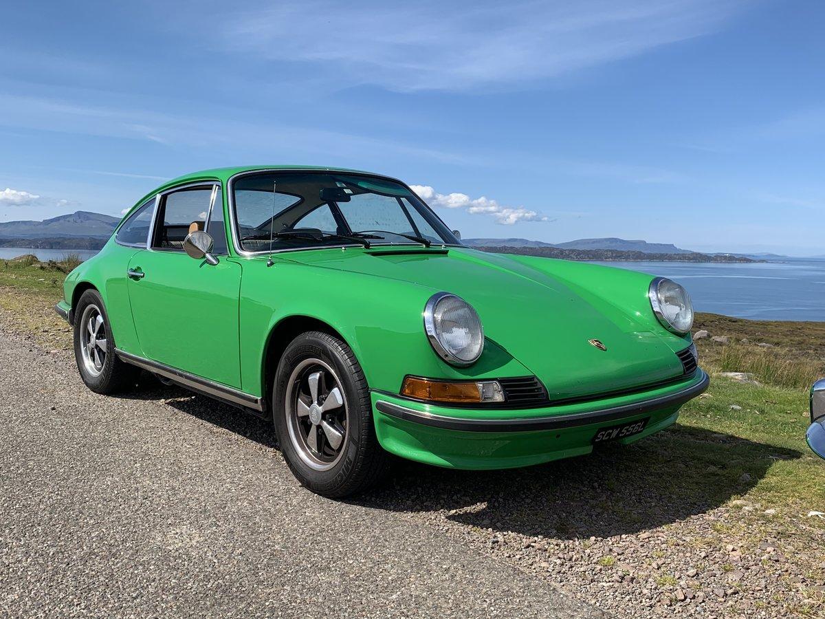 1972 Porsche 911  2.4E, original RHD car, exceptional example For Sale (picture 18 of 18)