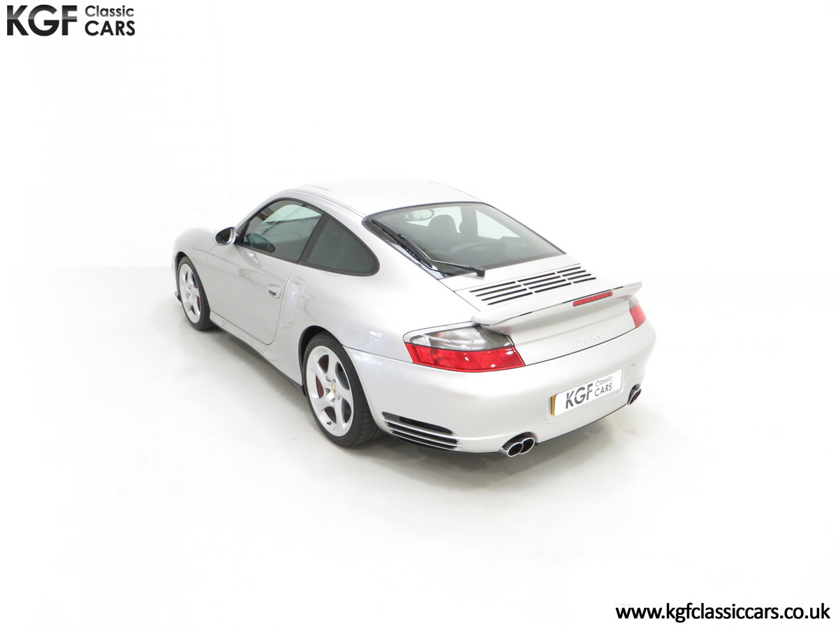 2002 An Iconic Porsche 996 911 Turbo Cherished by a Motoring Enth SOLD (picture 9 of 24)