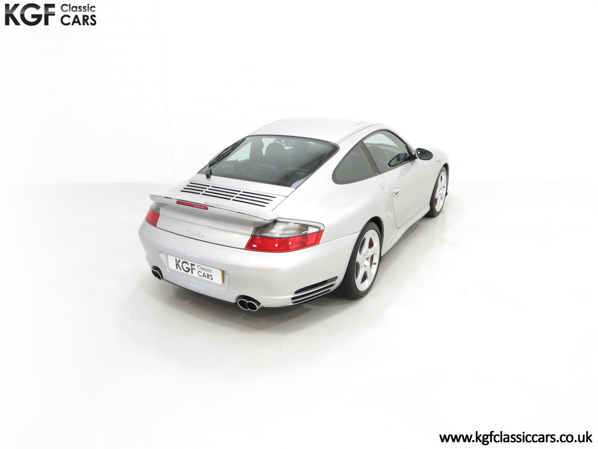 2002 An Iconic Porsche 996 911 Turbo Cherished by a Motoring Enth SOLD (picture 12 of 24)