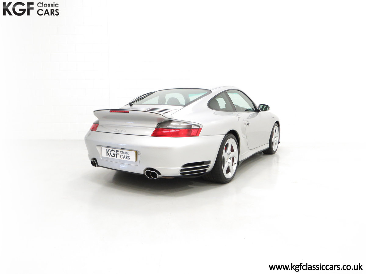 2002 An Iconic Porsche 996 911 Turbo Cherished by a Motoring Enth SOLD (picture 13 of 24)