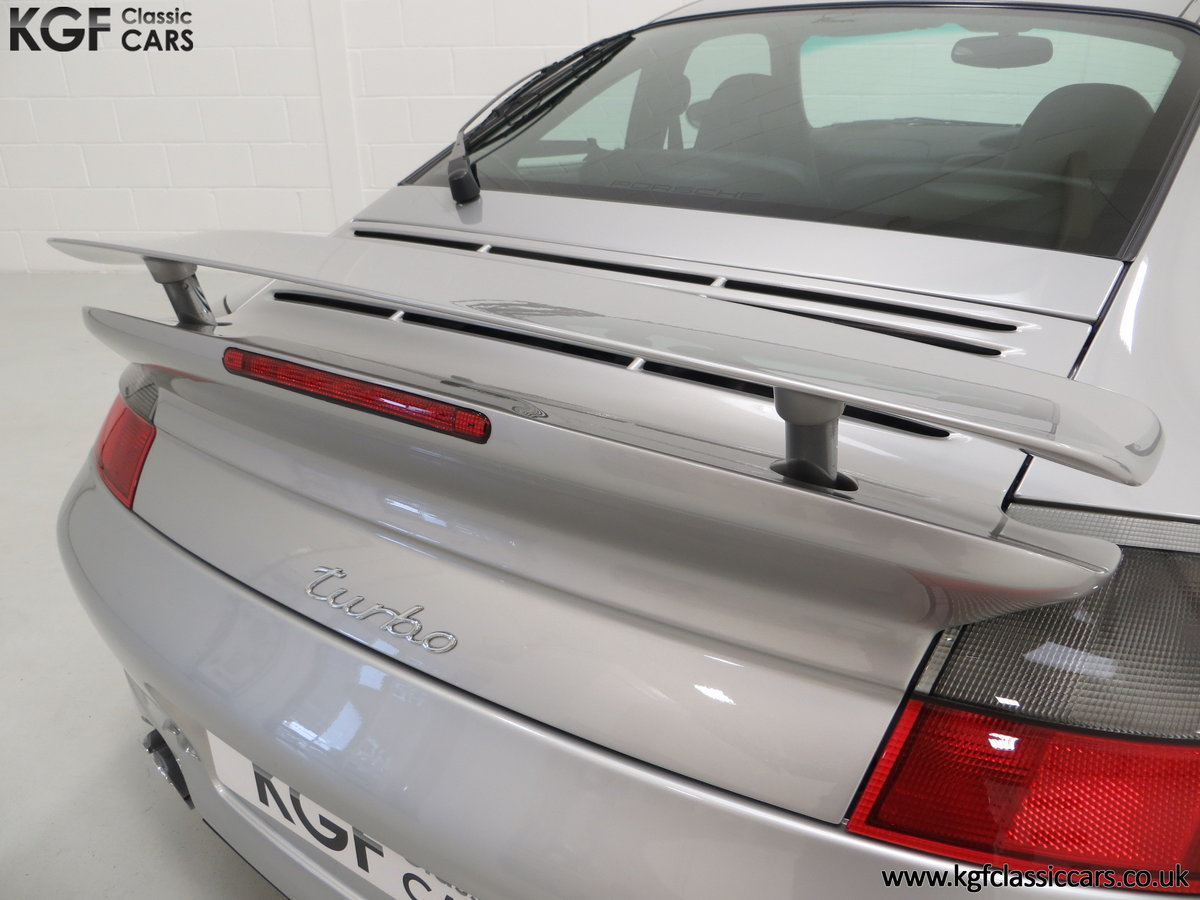 2002 An Iconic Porsche 996 911 Turbo Cherished by a Motoring Enth SOLD (picture 22 of 24)