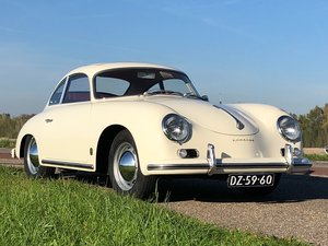 Porsche 356 A Coupe sunroof (fully restored)