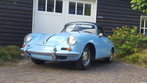 Porsche 356 SC Cabriolet (matching numbers)