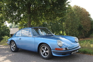 "Picture of 1972 Porsche 911 T ""Oelklappe"" Gemini Blue For Sale"