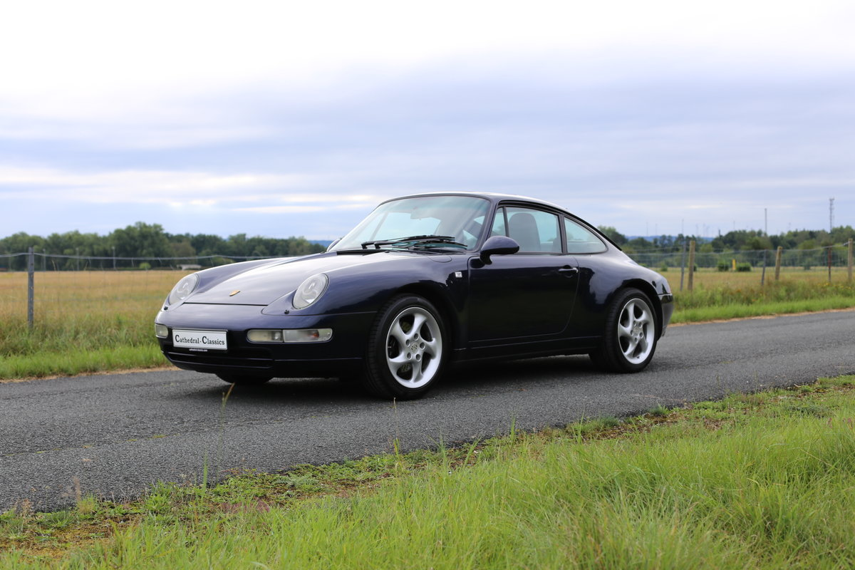 1994 Last of the air-cooled Porsche 911 Carrera (993) Coupe Tiptr For Sale (picture 1 of 6)