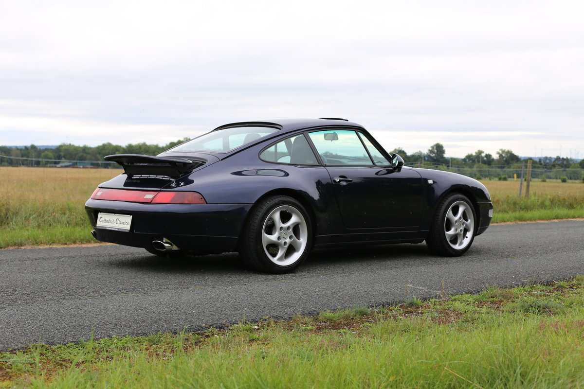 1994 Last of the air-cooled Porsche 911 Carrera (993) Coupe Tiptr For Sale (picture 6 of 6)