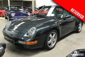 1994 (1995 MY) RESERVED Porsche 993 (911) Carrera 2 manual coupe For Sale