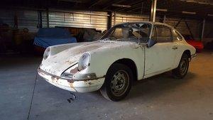 Porsche 912 Coupé 1966 Restoration project For Sale