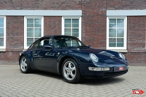 Porsche 993 Targa - Dunkelblau, rare manual 6 speed