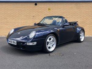 1995 PORSCHE 911 993 CARRERA // Cabriolet // AUTO // 3.6L 268 BHP
