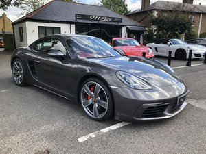 2017 PORSCHE CAYMAN S (718) PDK SAT-NAV SPORTS CHRONO For Sale