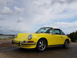 1972 Porsche 911 E 2.4 Oelklappe Targa