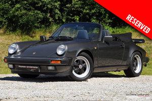 1989 RESERVED - Porsche 911 Carrera 3.2 G50 manual cabriolet  For Sale