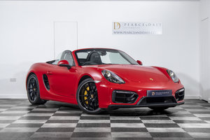 2015 2016 / 65 Porsche Boxster (981) GTS Manual For Sale