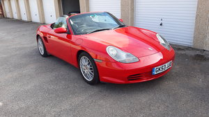 Porsche Boxster 986 facelift model.