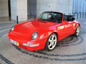 1997 Porsche 993 Carrera 2 Cabrio For Sale