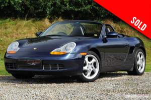 Picture of 1999 Porsche 986 Boxster manual  SOLD