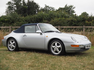 1994 Porsche 993 C2 Manual Cabriolet  For Sale