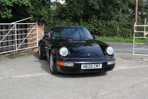1991 Porsche 911 964 Turbo, 57500 miles, excellent history SOLD
