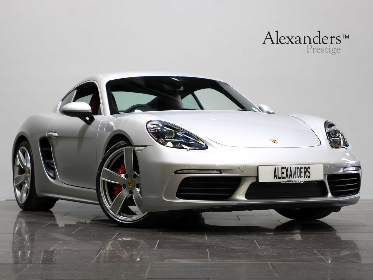 2016 16 66 PORSCHE CAYMAN S [718] 2.5 MANUAL For Sale (picture 1 of 6)