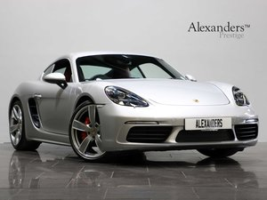 16 66 PORSCHE CAYMAN S [718] 2.5 MANUAL