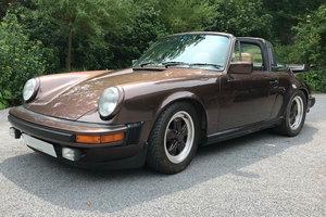 1981 Rare colour comination Porsche 911 3.0 SC LHD Targa For Sale