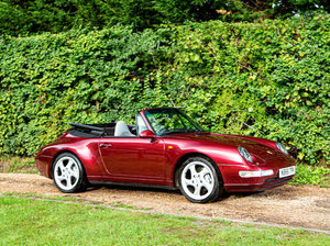 1996 Porsche 911 (Type 993) Carrera 4 Cabriolet For Sale by Auction