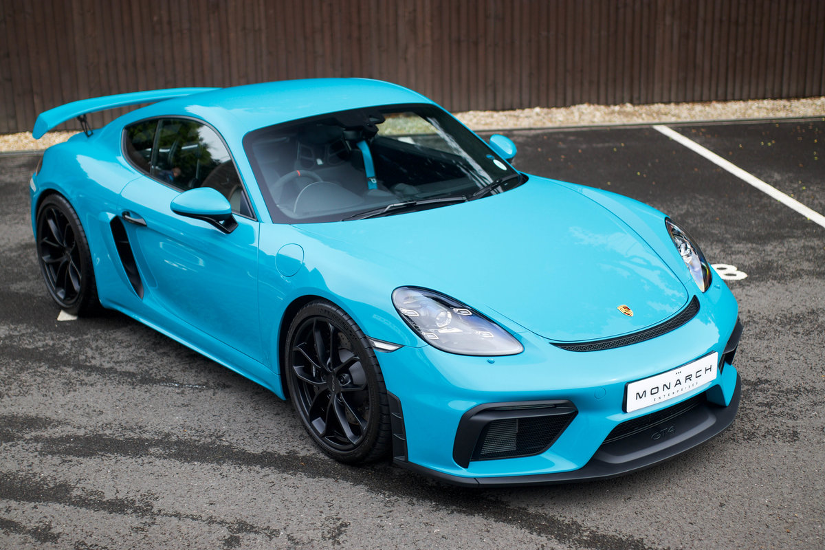 2020/20 Porsche 718 Cayman GT4 Clubsport Package For Sale (picture 1 of 6)
