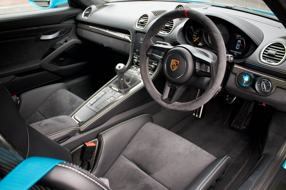 2020/20 Porsche 718 Cayman GT4 Clubsport Package For Sale (picture 5 of 6)